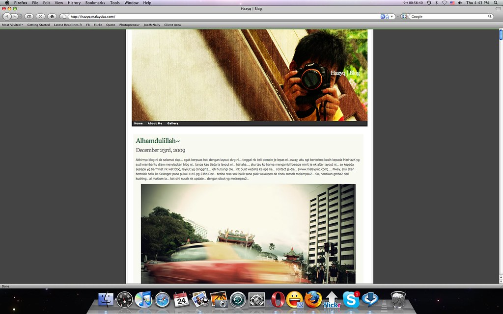 New Blog | hazyq.malaysiac.com