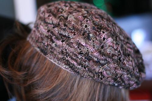 lace beret