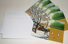 Mr Toast Winter Cards