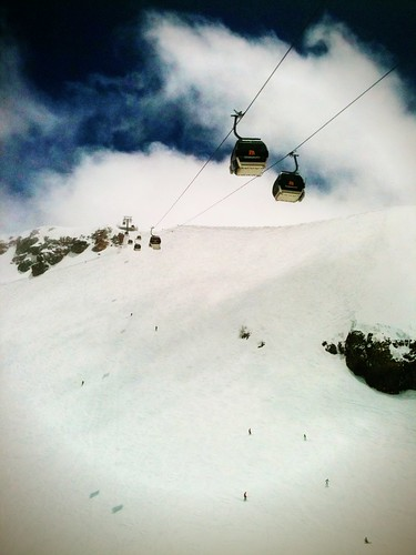 Upper Panorama Gondola, Mammoth Mountain by JulieAndSteve