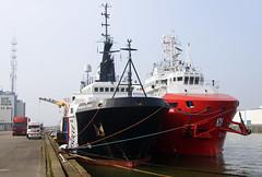 RESOLVE EARL & VOS SHINE (kees torn) Tags: offshore tugs ahts lekhaven vroon vosshine resolveearl