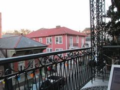 New Orleans: our balcony at the Biscuit Palace (shermaniac) Tags: hotels neworleansla louisiana