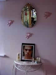 my bedroom (damselfly58) Tags: bedroom nickcave swallows robertgordon