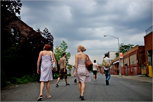 Greenpoint, a traditionally Polish neighborhood in Brooklyn, is drawing in younger residents.