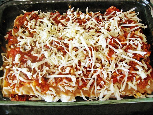 Lasagna (ready for baking)