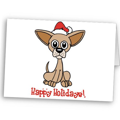Funny Christmas Cards. chihuahua christmas cards