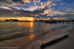 Fascinating Mabul 31 (Firdaus Mahadi) Tags: sea sky cloud sun seascape tourism beach silhouette clouds sunrise island boat amazing fisherman scenery village jetty exploring laut villages explore malaysia borneo beaches awan jetski sabah pulau mabul bot fascinating jeti langit pemandangan waterscape waterscapes nelayan perkampungan mabulisland bajau pulaumabul samporna bajaulaut pelancongan tokina1116mmf28 firdausmahadi firdaus lautsulu wwwfirdausmahadicom mahadi