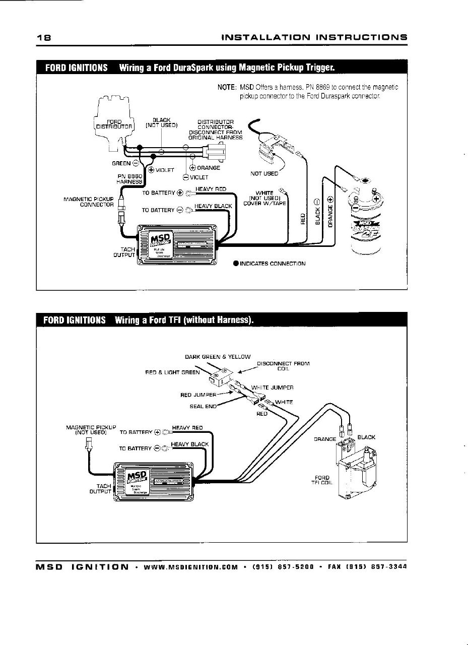 3711059912_a3e03d7efe_o 6a msd box install (help) ford mustang forums corral net MSD 6AL Wiring Diagram Chevy at mifinder.co