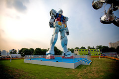 Up Close and Not So Personal (TheJbot) Tags: japan robot stage odaiba gundam jbot 11scale thejbot height18m weight25t giantgundaminjapan