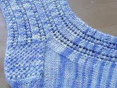Caitlin's lace anklet detail