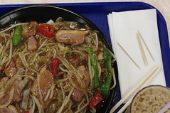 Day 172 - Smoked Duck Breast with Fried Rice Noodles