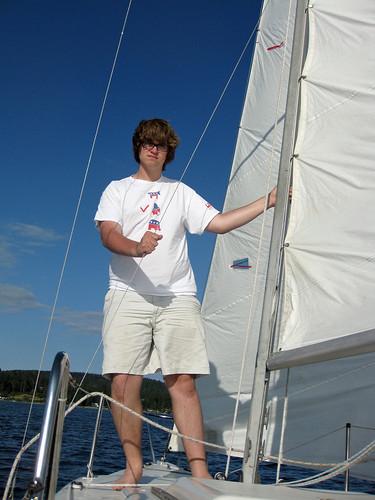 Zach sails