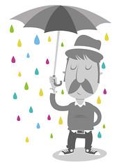 No one loves me & neither do I (medialunadegrasa) Tags: illustration juan carlos