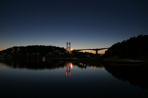 Tjörn bridge, Sweden. Photo: Fredrik Stålhandske, Sweden.se 2008