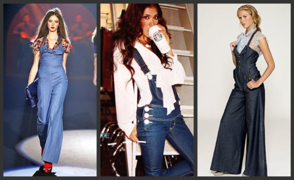 overalls collage