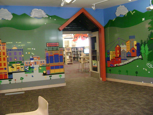 Kids area entrance