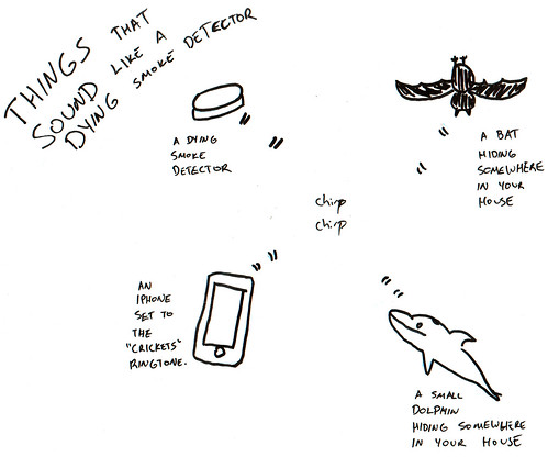 366 Cartoons - 190 - Things That Sound Like a Dying Smoke Detector
