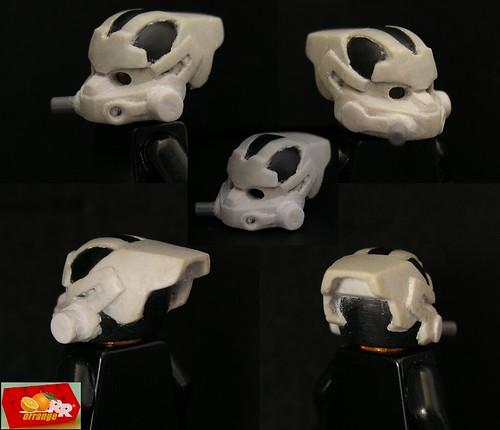 KILLZONE2 prototype Helghast custom minifig helmet