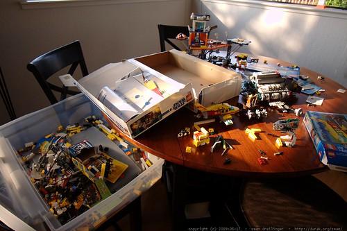 a few of nick's new lego kits c/o grandma neeta and grandpa jeff - _MG_1467
