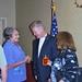Rusty with Judy Foster and Mary Jo Thomas