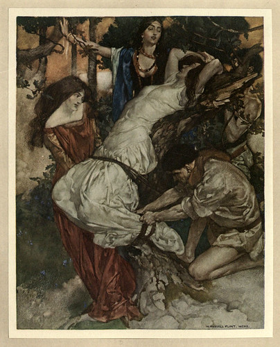 012 -Le morte Darthur 1921- William Russell Flint