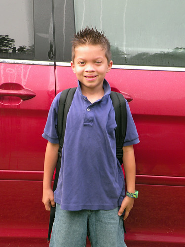 1st day of 2nd grade by you.