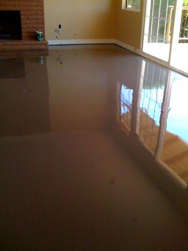 Concrete Foundation Floor Repair