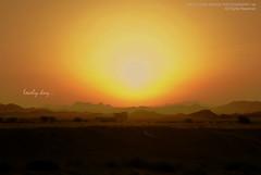 lovely day (mai-ei) Tags: sun sunrise desert saudiarabia ksa lovelyday garbongbisaya maiei mayajoanomanaphotography09