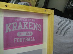 KRAKENS T-shirt for ROOKIE Tailgate Tour