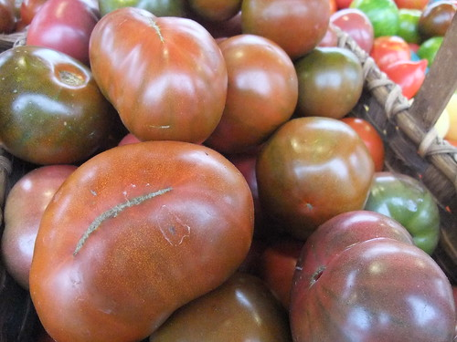 Heirloom Black Tomatoes