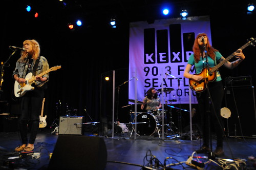 live at Bumbershoot Music Lounge photo by Dan Muller