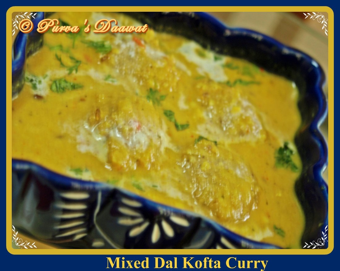mixed dal kofta curry