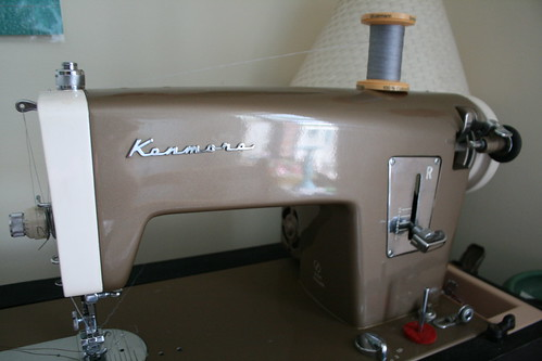 My Snappy New Kenmore Machine