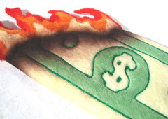 Felted Dollars 2