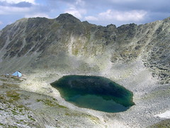 Icy Lake, the lake and the shelter (proxima2) Tags: mountain lake bulgaria rila proxima2
