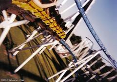 Montaa Rusa Aconcagua - Parque de la Ciudad (Interama) (SebastianCoaster's) Tags: park parque argentina de la amusement buenos aires ciudad roller theme rollercoaster montaa bahn coaster aconcagua achterbahn schwarzkopf stengel achter rusa interama