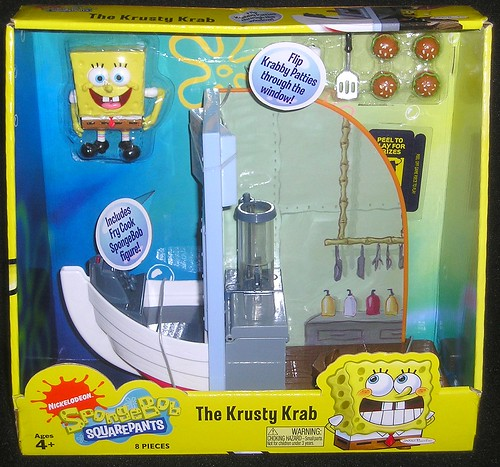 Spongebob & The Krusty Krab Playset
