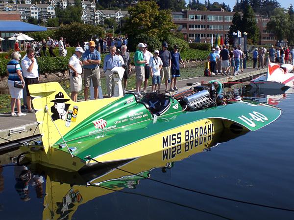Miss Bardahl Hydroplane