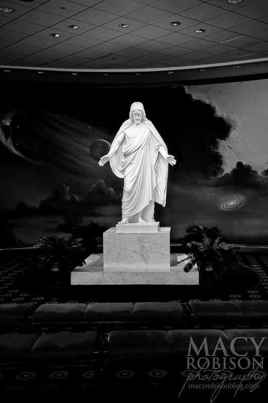 Washington DC LDS Visitors Center - Christus Statue
