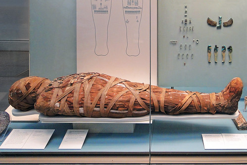 Mummy in the British Museum, London