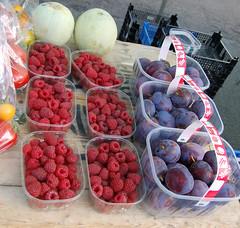 Rye Farmers Market fruit