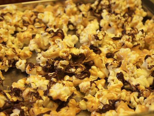 Tiger butter popcorn!