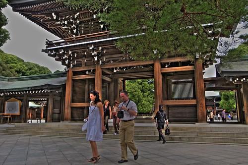 Meiji Jingu Shrine [pseudo-HDR]