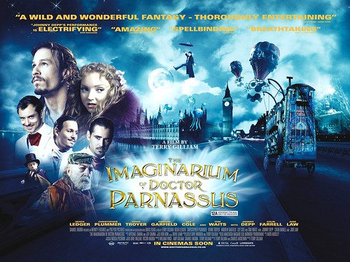 poster UK The Imaginarium of Doctor Parnassus