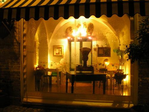 Restaurante de Grottamare (Italia)
