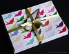 Crane Folded Card, Set Of 8