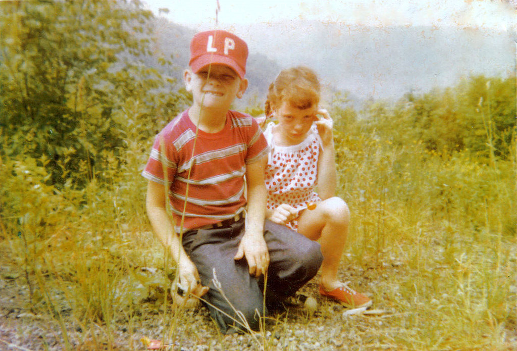 My Brother & I, Summer 1958