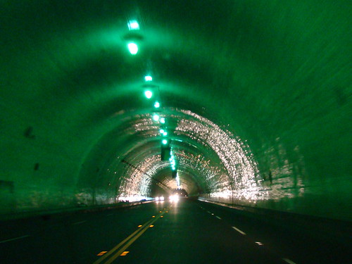 2nd Street Tunnel, Los Angeles
