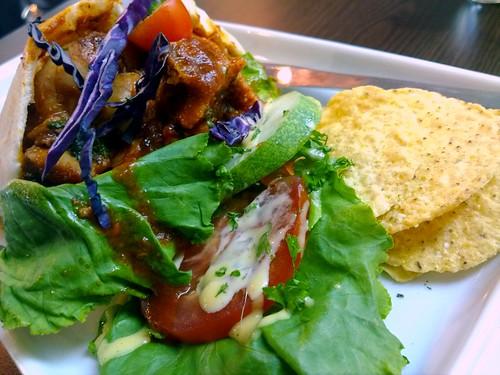 BBQ Chicken Pita at Eatz