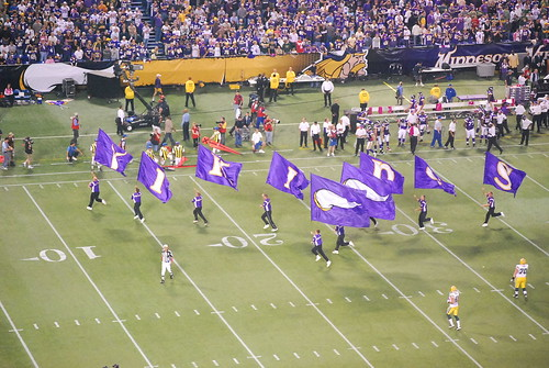 Flags for the Vikings